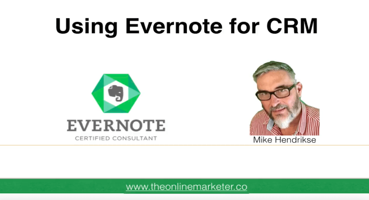 Use Evernote as a Customer Relationship Management Tool 2