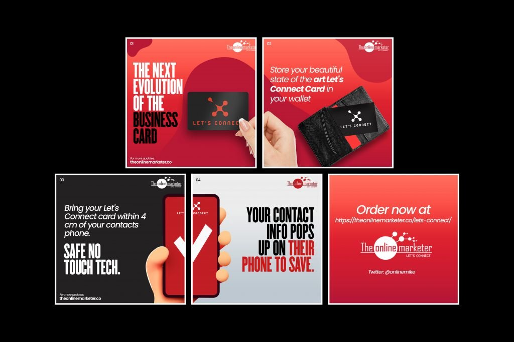 Let's Connect Card - Digital Business Card 1